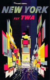 David Klein New York Fly TWA 1957