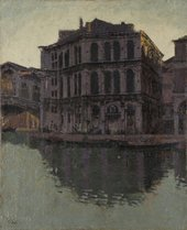 Walter Sickert, The Rialto Bridge the Palazzo dei Camerlenghi 1902–4