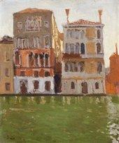 Walter Sickert, Palazzo Eleonora Duse, Venice 1901