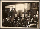 Class at the Hans Hofmann School of Fine Arts, Provincetown, c.1945