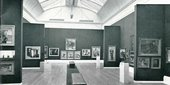 View into Gallery XVII, The Tate Gallery Photograph published on p.1 of Pitkin Pictorials' A Brief History of the Tate Gallery, London 1958