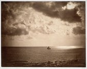 Gustave Le Gray, The Brig (or Sea and Sky) 1856