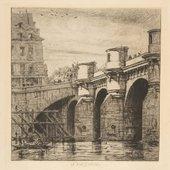 Charles Meryon, Pont-neuf, Paris 1853