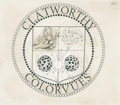 Larry Sultan and Mike Mandel, Clatworthy Colorvues logo, c.1975