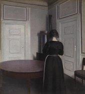 Vilhelm Hammershoi Interior 1899