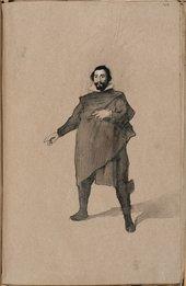 William Rothenstein Copy after Velázquez c.1890