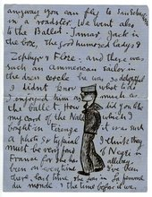 Edward Burra Letter to Barbara Ker-Seymer 23 July 1926