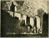 Joseph Pennell, Cliffs of West Street, New York 1908