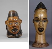 Examples of Ekoi masks