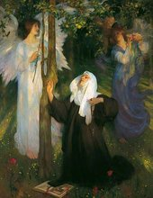 Arthur Hacker The Cloister or the World? 1896