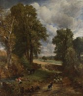 John Constable The Cornfield 1826