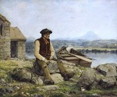 William Dyce, The Highland Ferryman 1857