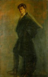 William Rothenstein Edward Gordon Craig as Hamlet 1896