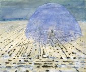 Anselm Kiefer Everyone Stands Under His Own Dome of Heaven 1970