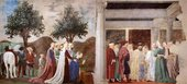Piero della Francesca, Procession of the Queen of Sheba 1452–66