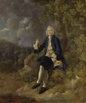 Thomas Gainsborough, Clayton Jones c.1744–5