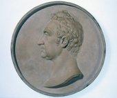 John Gibson, Medallion of William Roscoe 1813