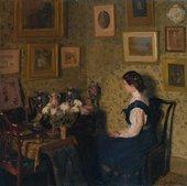 Harold Gilman Edwardian Interior c.1906