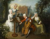 Philippe Mercier, The Music Party 1733