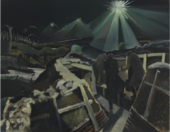 Paul Nash, The Ypres Salient at Night 1918