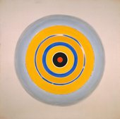 Kenneth Noland, Drought 1962