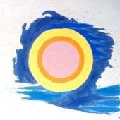 Kenneth Noland, Lunar Episode 1959