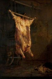 Rembrandt van Rijn, The Carcase of an Ox c.1640–45