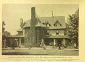 Photograph of Rose Hill, home of entrepreneur and pharmacist Charles E. Hires, Merion, Philadelphia