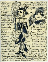 Edward Burra Letter to Barbara Ker-Seymer 2 June 1928