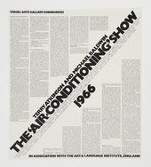 Art & Language, Poster for Air-Conditioning Show 1971–2