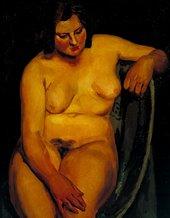 Vanessa Bell Nude c.1922–3