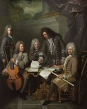 André Bouys, La Barre and other Musicians c.1710