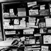 Cornell's basement studio, 3708 Utopia Parkway, Flushing, New York 1964