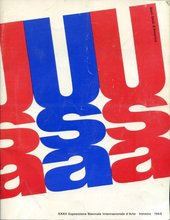 Cover of Quattro Pittori Germinale/Four Germinal Painters, exhibition catalogue, Venice, 1964