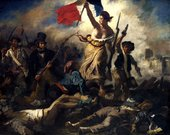 Eugène Delacroix Liberty Leading the People 1830