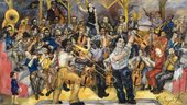 Philip Evergood, Music 1933–59