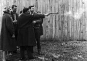 First Shooting, 11 Impasse Ronsin, Paris, February 12, 1961