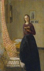 Gwen John A Lady Reading 1909–11
