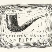 René Magritte, Ceci n'est pas une pipe 1926
