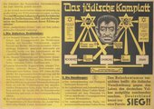 Parole der Woche, no.50 1941, Nazi German political poster