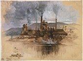 Joseph Pennell, Bethlehem Steel Works 1881