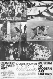 Exhibition poster for Popa at Moma