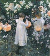 John Singer Sargent, Carnation, Lily, Lily, Rose 1885–86