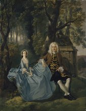 Thomas Gainsborough, Mr and Mrs Carter c.1747–8