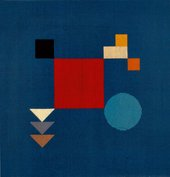 Sophie Taeuber-Arp Untitled (Composition with Squares, Circle, Rectangles, Triangles) 1918