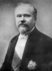 Photograph of Raymond Poincaré as President of the Republic of France, 1914