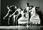 The Alvin Ailey American Dance Theater performing at the Sorano Theatre, Dakar, 1966, as part of the First World Festival of Negro Arts