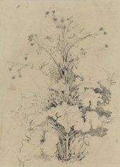 John Crome, Plant study: A Burdock undated