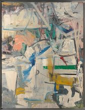 Willem de Kooning Easter Monday 1955–6