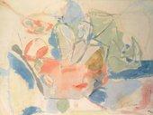 Helen Frankenthaler, Mountains and Sea 1952
